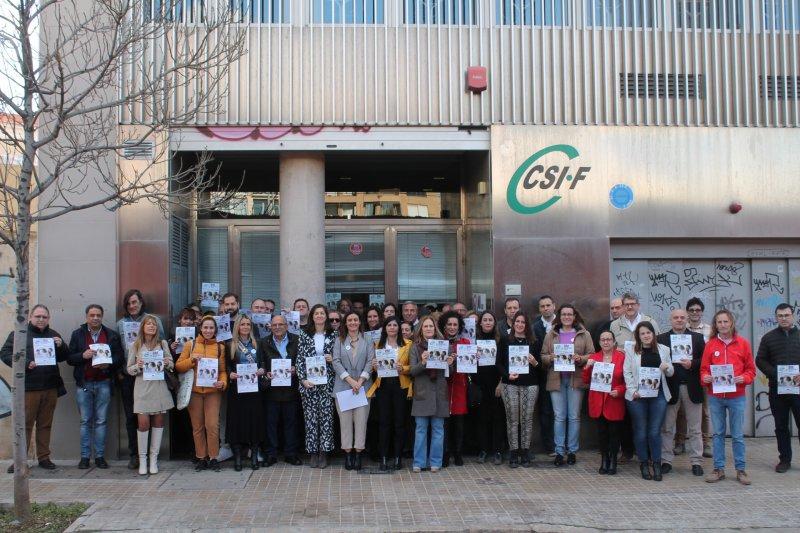 Concentración CSIF Comunidad Valenciana