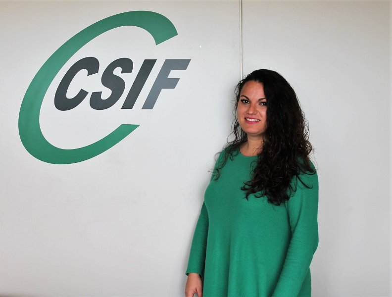 Laura Martínez, delegada de CSIF Sanidad privada