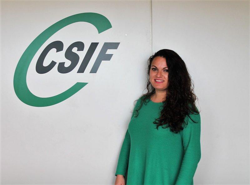 Laura Martínez, portavoz de CSIF Sanidad Privada