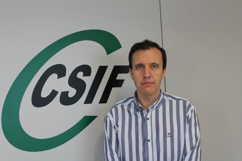 José Seco, portavoz de CSIF en Mesa de Educación