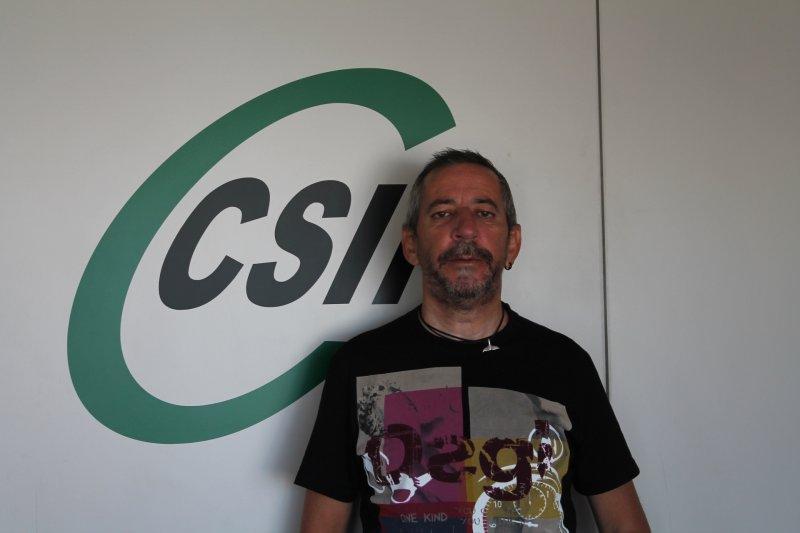 Jerónimo Parejo, presidente de CSIF ONCE