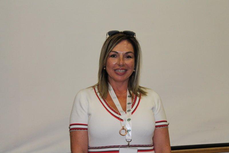 Cecilia Melià, presidenta de CSIF Sanidad en la provincia de Alicante