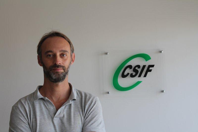Alberto García, responsable de prisiones CSIF Comunidad Valenciana