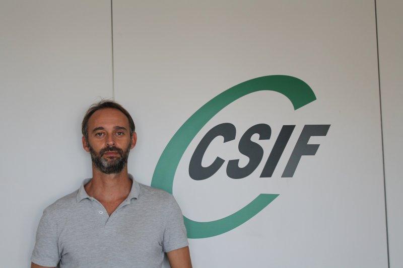Alberto García, presidente de CSIF Prisiones Comunidad Valenciana
