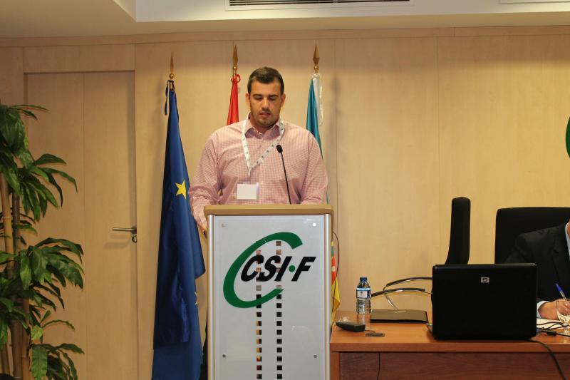 Jorge Vela, presidente CSI·F AGE Comunidad Valenciana
