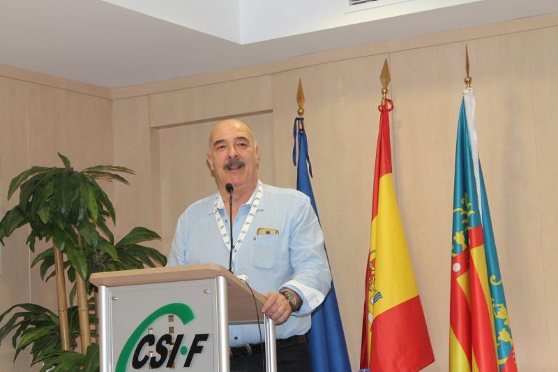 Julio Tamayo, presidente de CSI·F CV Administración Autonómica