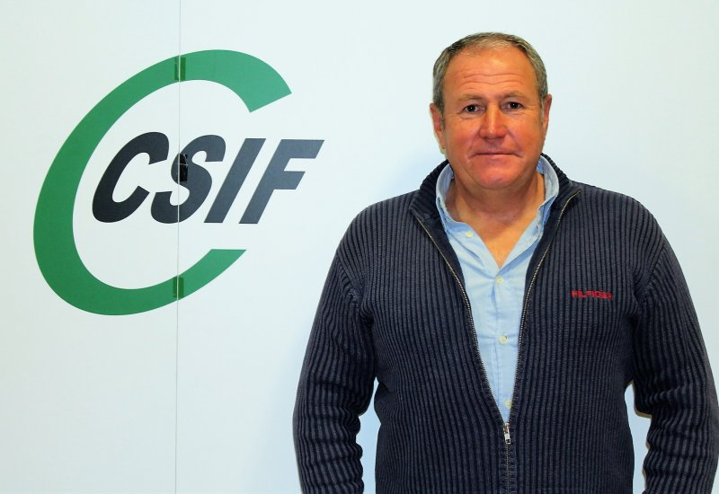 Jesús Sánchez, presidente de CSIF Administración Local provincia de Valencia