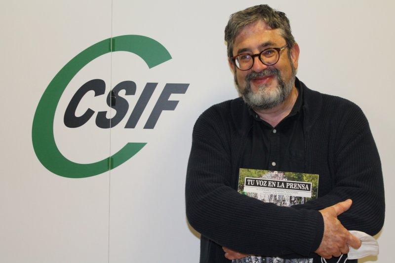 Tomás Cervera, delegado de CSIF en el hospital Doctor Moliner