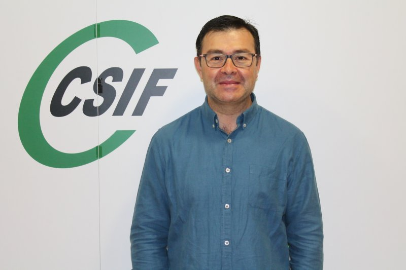 Enrique Martínez, delegado del sindicato CSIF en el departamento de salud de la Ribera