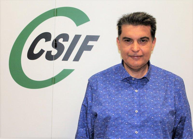 Fernando García, presidente de CSIF Sanidad en la provincia de Valencia