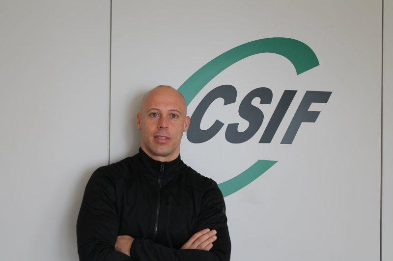 Emilio Rodríguez, delegado de CSIF Policía Local en el Ayuntamiento de Valencia