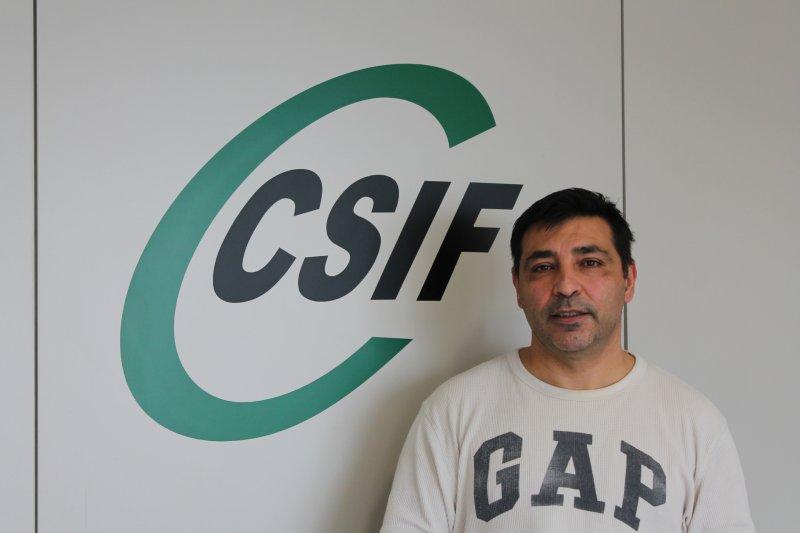 José Alfonso Fenollosa, vicepresidente autonómico de CSIF Administración Local