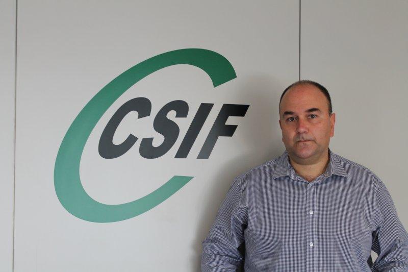 Ezequiel Archilla, presidente de CSIF Administración General del Estado en la Comunidad Valenciana