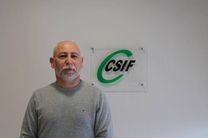 José Herrera, presidente de CSIF Justicia Valencia