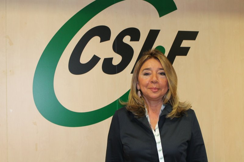 Carmen Hernández, responsable de universidades en CSIF Educación Comunidad Valenciana