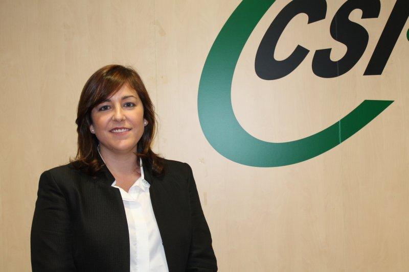 Estela Hontanilla, presidenta provincial en Valencia de CSI·F Educación