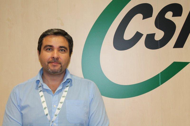 Rafael Benavent, portavoz de CSIF Educación