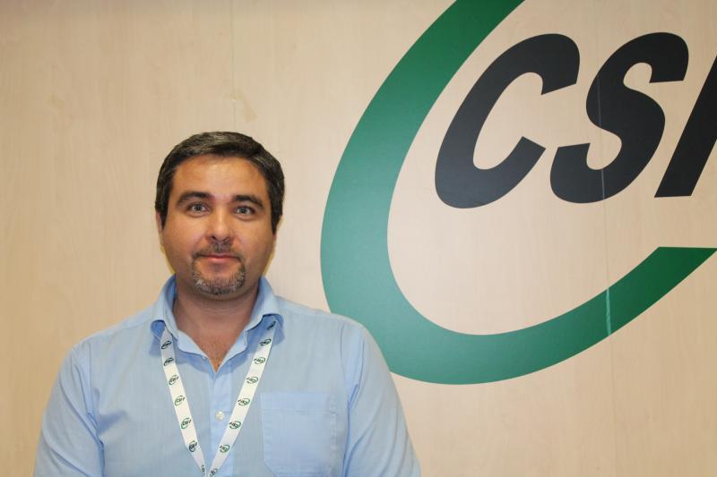 Rafael Benavent, delegado CSI·F Educación