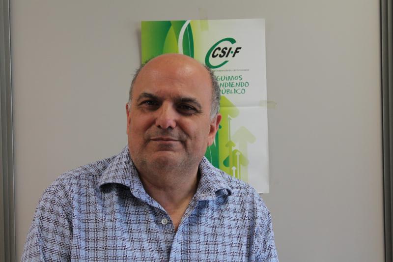 Rafael Cantó, presidente CSI·F Sanidad