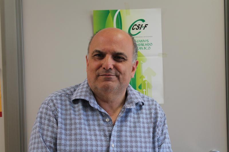 Rafael Cantó, presidente CSI·F Sanidad Comunidad Valenciana