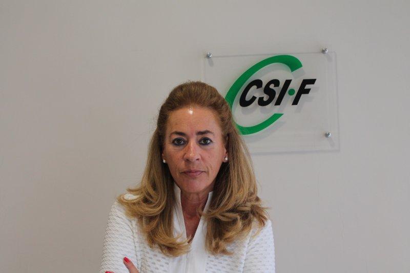 Dolly Prunés, vicepresidenta Sanidad CSI·F Comunidad Valenciana