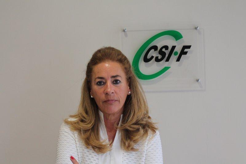 Dolly Prunés, vicepresidenta de Sanidad en CSIF Comunidad Valenciana