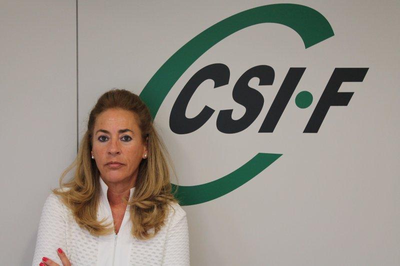 Dolly Prunés, vicepresidenta CSIF Sanidad Comunidad Valenciana
