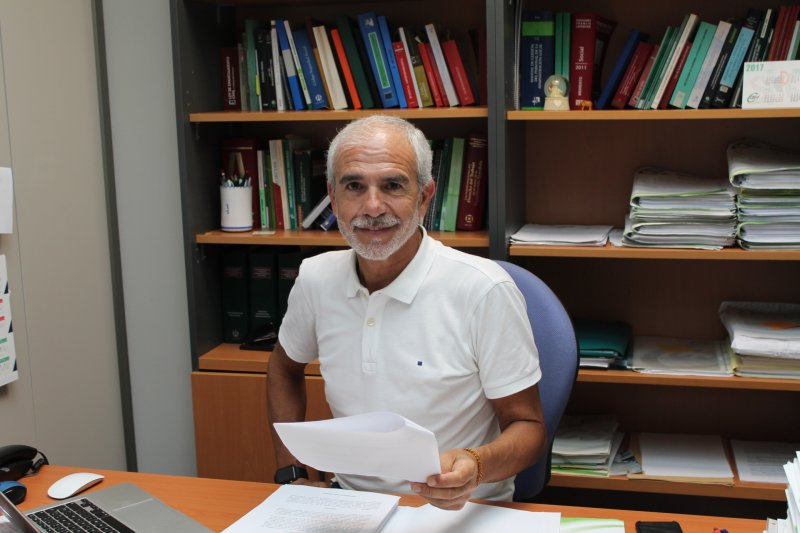 Mario Martín, responsable servicios  jurídicos CSI·F
