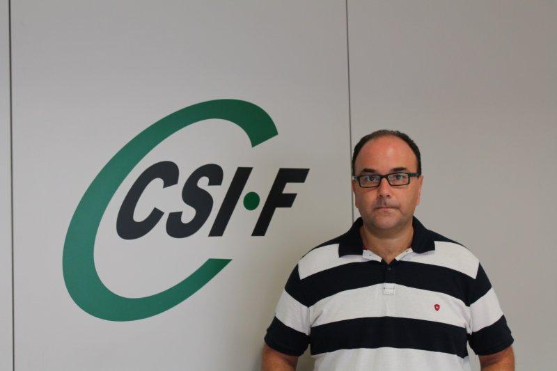 Ezequiel Archilla, vicepresidente de CSIF AGE CV