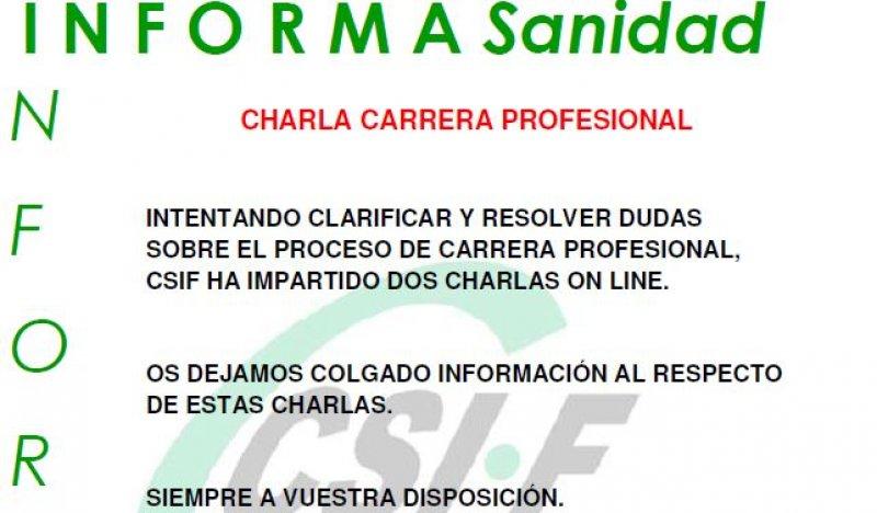Carrera profesional en Sanidad