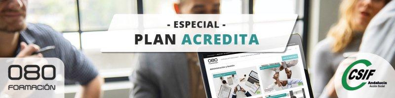 Obtén tu certificado de profesionalidad con el Plan Acredita en '080 Formación' sólo por ser afiliado/a a CSIF