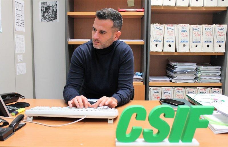 Javier Tarazona, abogado de CSIF Comunidad Valenciana