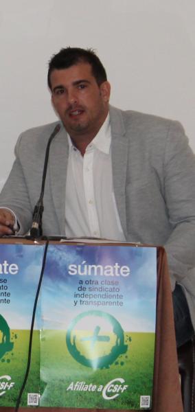 Jorge Vela, presidente Administración Central de CSI·F Comunidad Valenciana