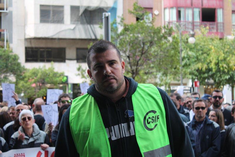 Jorge Vilas, presdiente de CSIF Prisiones Comunidad Valenciana