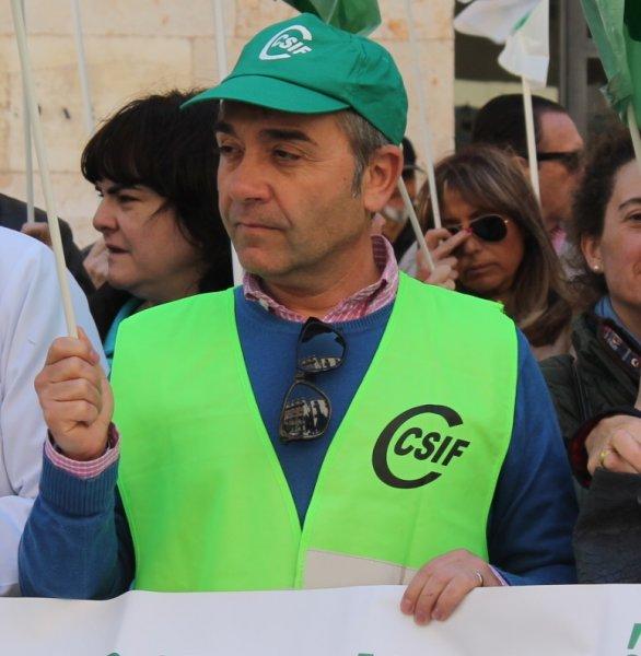 José Luis Arnau, delegado de CSIF en el Departamento de Salud Clínico-Malvarrosa