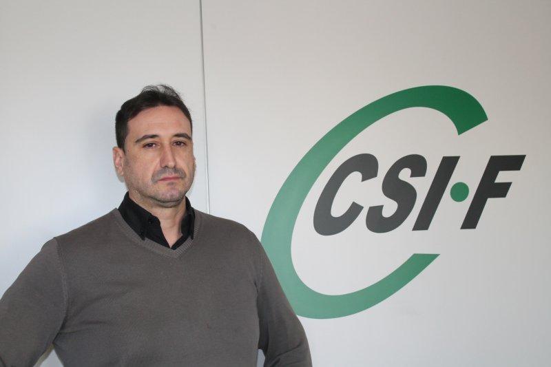 José Luis Sáez, portavoz de CSIF Seguridad Privada en la Comunidad Valenciana
