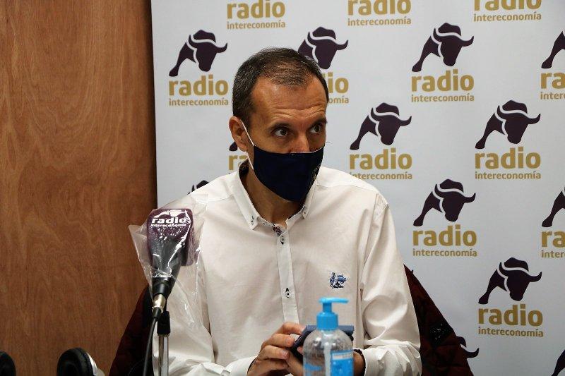 José Seco, presidente de CSIF Educación Comunidad Valenciana, en una reciente entrevista realizada
