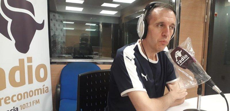 José Seco, portavoz de CSIF Educación Comunidad Valenciana, en la entrevista de esta mañana en Intereconomía Valencia