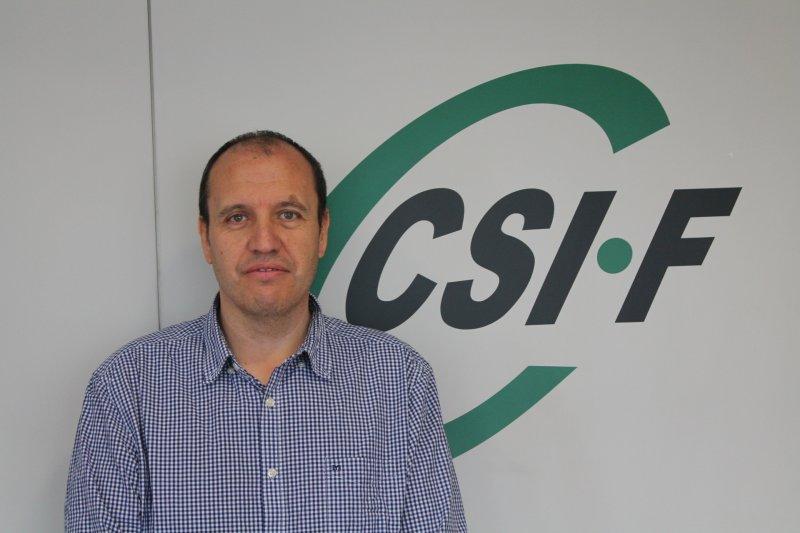 José Seco, portavoz de CSIF en Mesa Sectorial de Educación