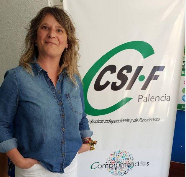 Josune Caballero representante de CSIF en Correos