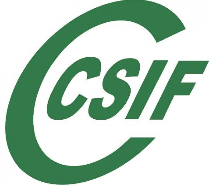 CSIF informa subida retributiva 1%