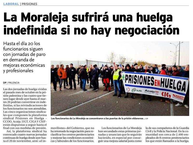 La Moraleja sufrirá una huelga indefinida si no hay negociación