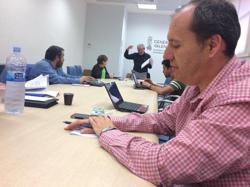 José Seco, delegado de CSIF en la mesa sectorial de Educación