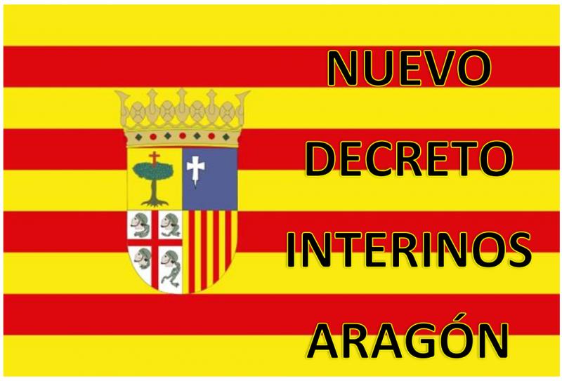 Nuevo Decreto de Interinos Aragón 2016