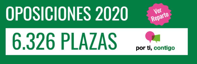 Oposiciones Secundaria Andalucia 2020 reparto de plazas por especialidad
