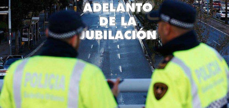 LA PLATAFORMA NACIONAL POR EL ADELANTO DE LA EDAD DE JUBILACIÓN DE LA POLICÍA LOCAL
