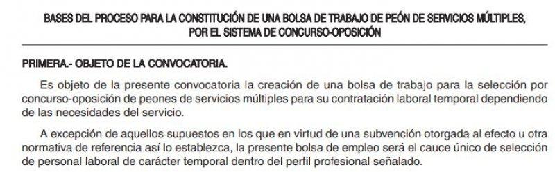 Peón de servicios múltiples en Magaz de Pisuerga