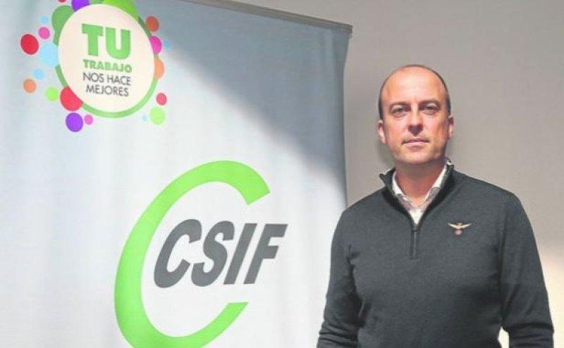 Presidente de CSIF Eduardo Laso