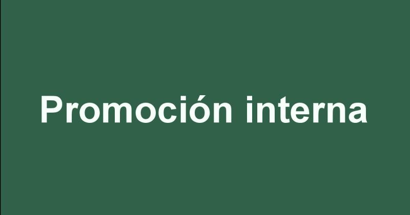 Promoción interna na Xunta de Galicia.