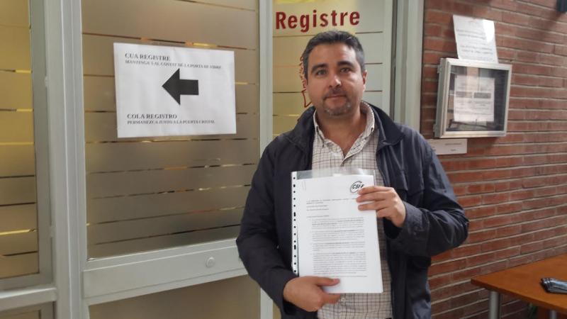 Rafael Benavent, delegado de Enseñanza de CSI·F.
